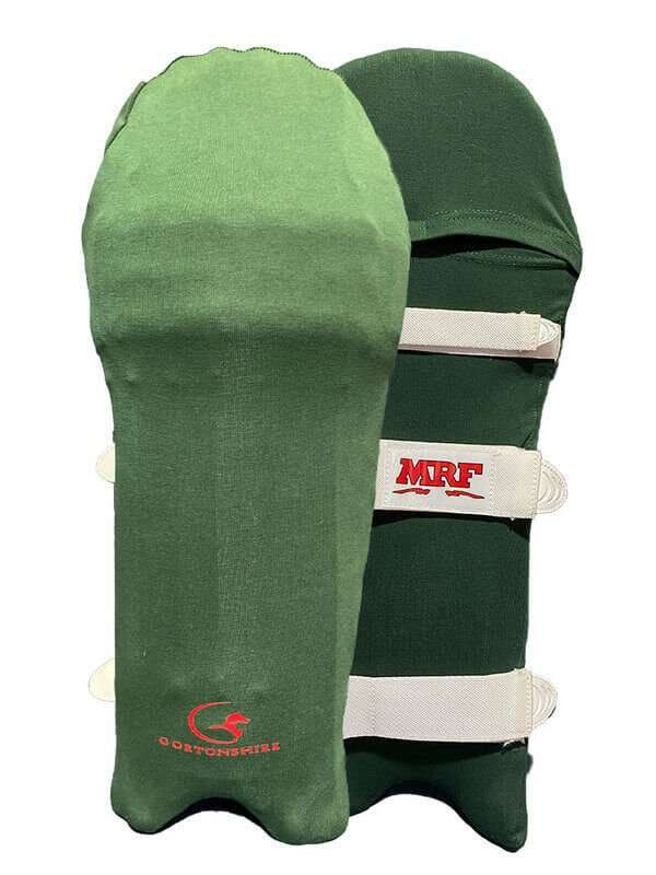 Cricket Pads Colored Skins – Green