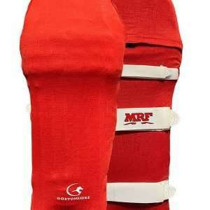 Cricket Pads Colored Skins – Red